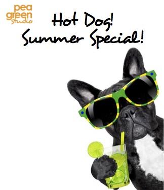 Hot Dog Summer special 10 class pass £89